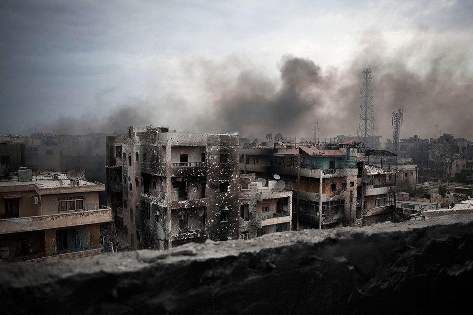 Вашингтон сейчас пытается сделать приоритетной тему ситуации в Алеппо