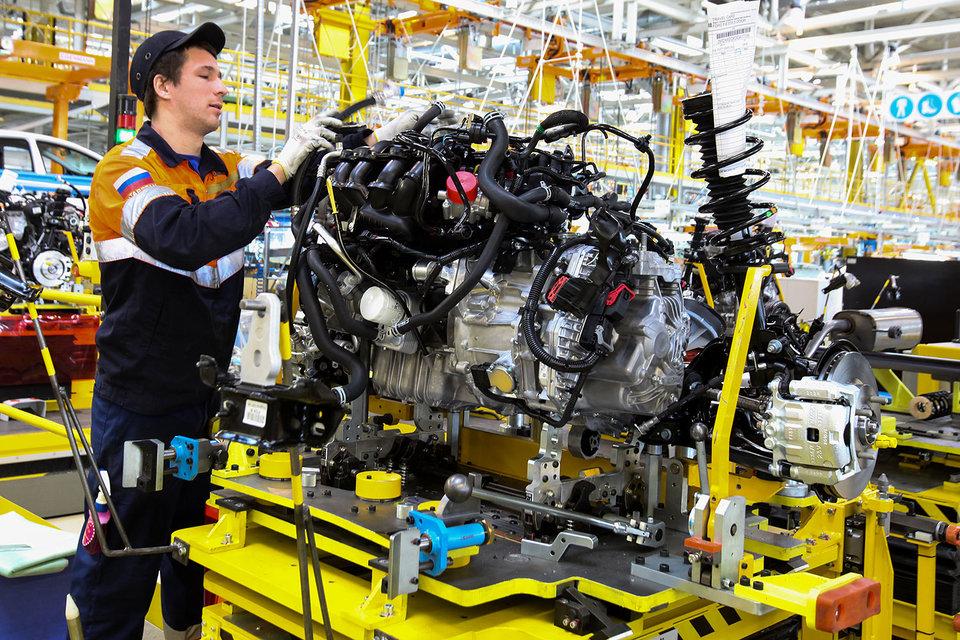 Больше денег получат производители, наладившие выпуск двигателей в России