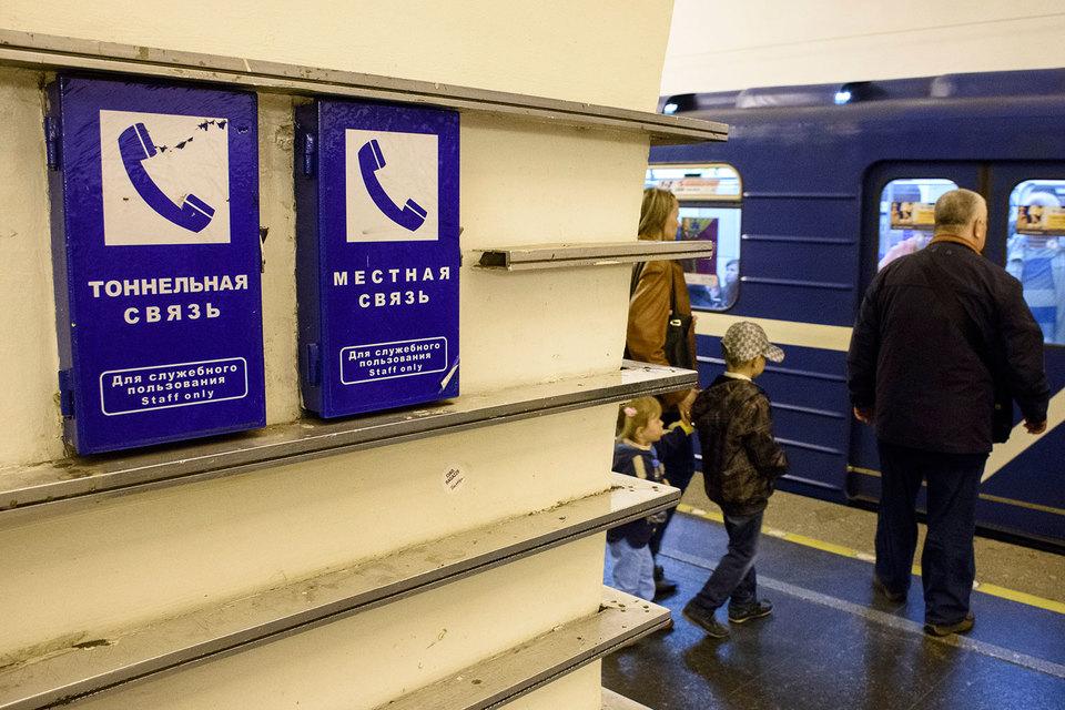 Только «Мегафон» сейчас предоставляет доступ в интернет в тоннелях метрополитена