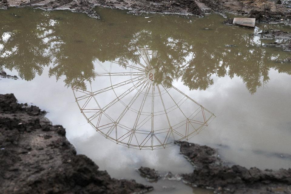 К 2018 г. на этом месте будет открыто новое, самое высокое в России колесо обозрения