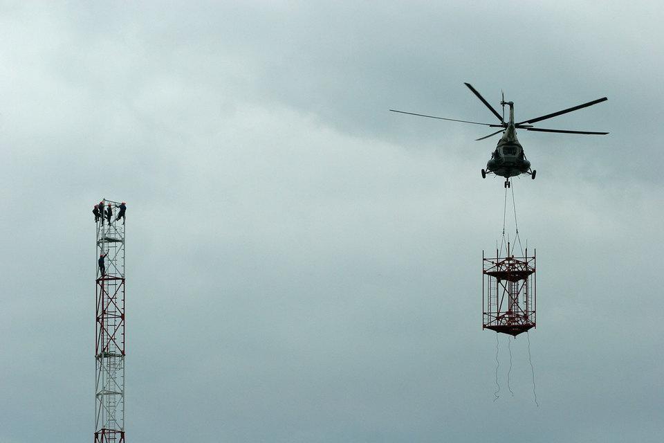 Большинство башен в России принадлежит сотовым операторам