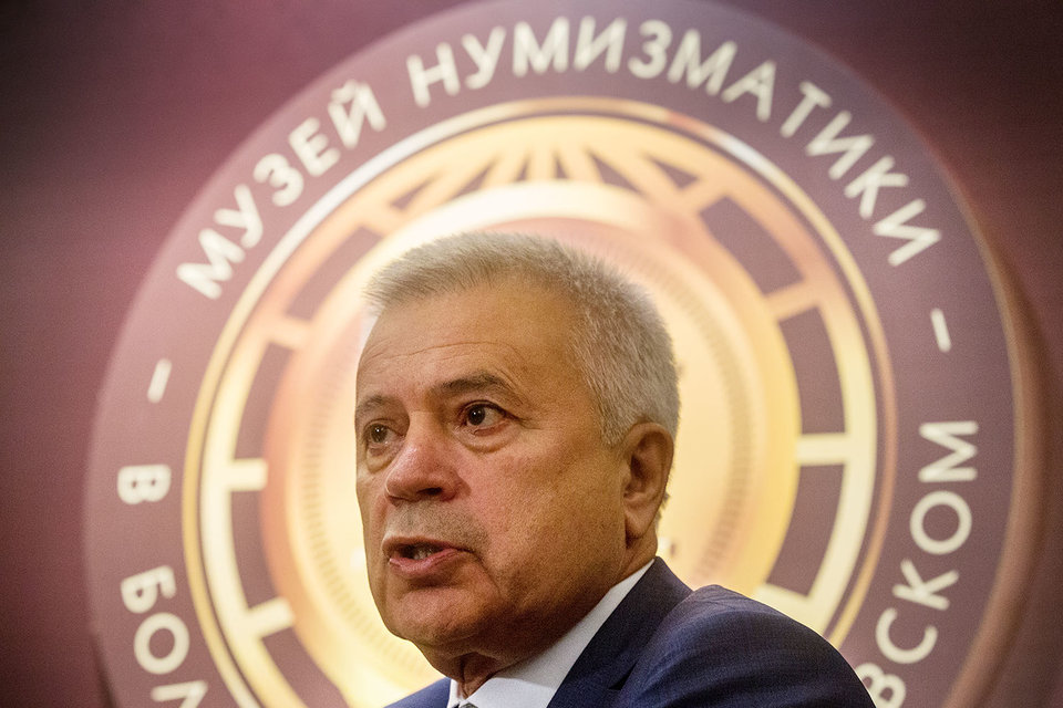 Президент «Лукойла» Вагит Алекперов