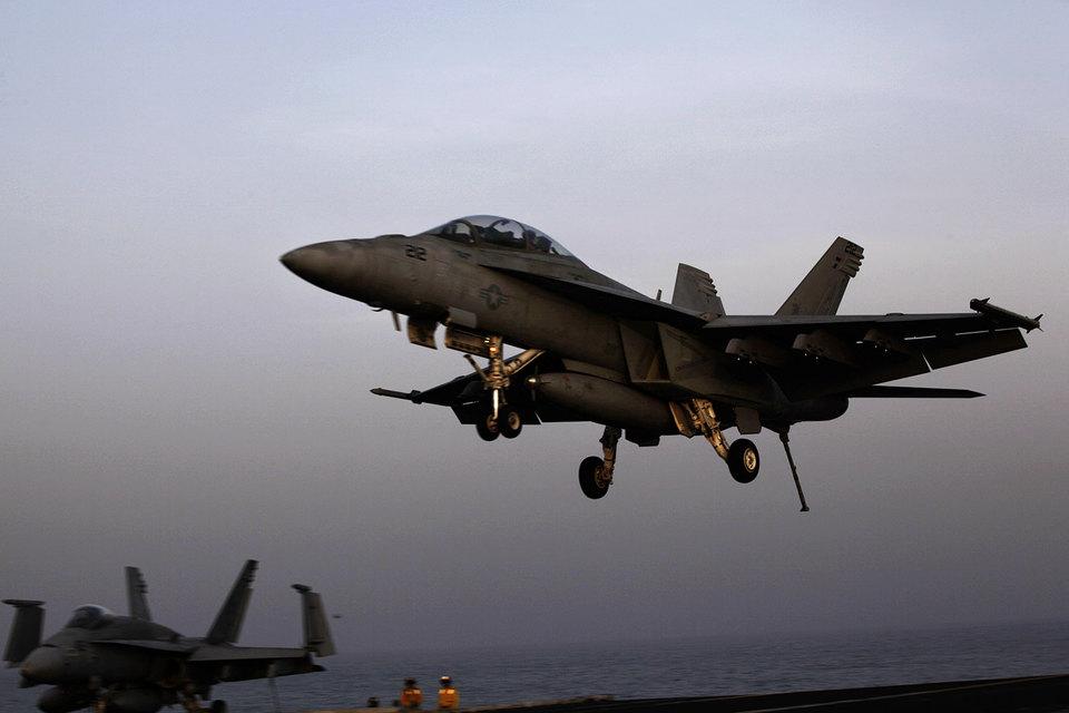 Архивный кадр. На фото самолет армии США