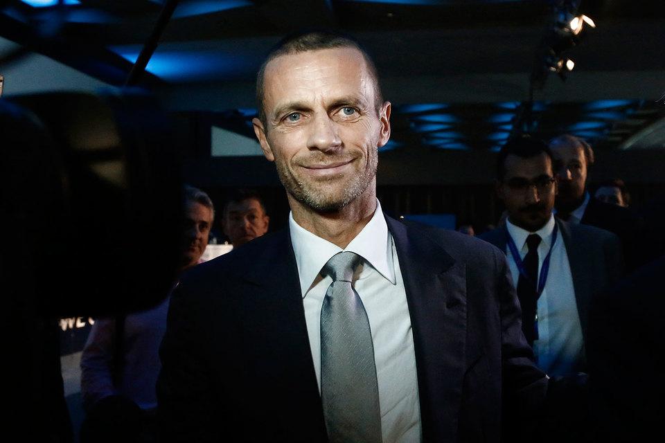 Президент UEFA Александер Чеферин