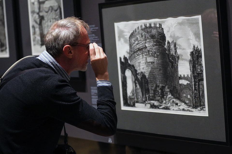 Гравюры Пиранези – лучшее, что есть на выставке