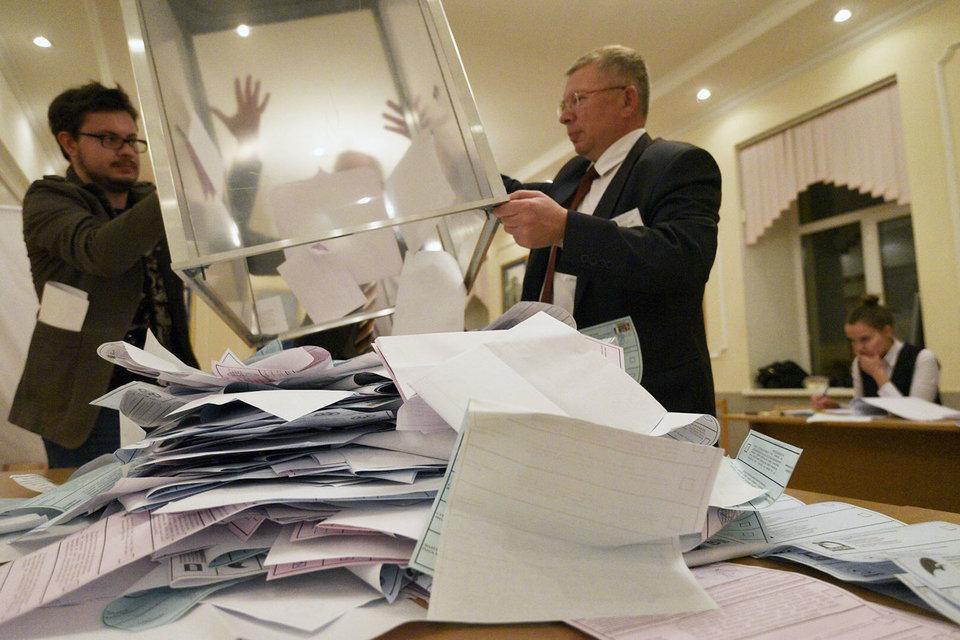 ЕР набрала больше 40% голосов в Санкт-Петербурге