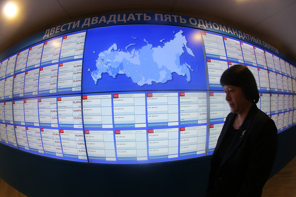 «Единая Россия» победила в подавляющем большинстве одномандатных округов