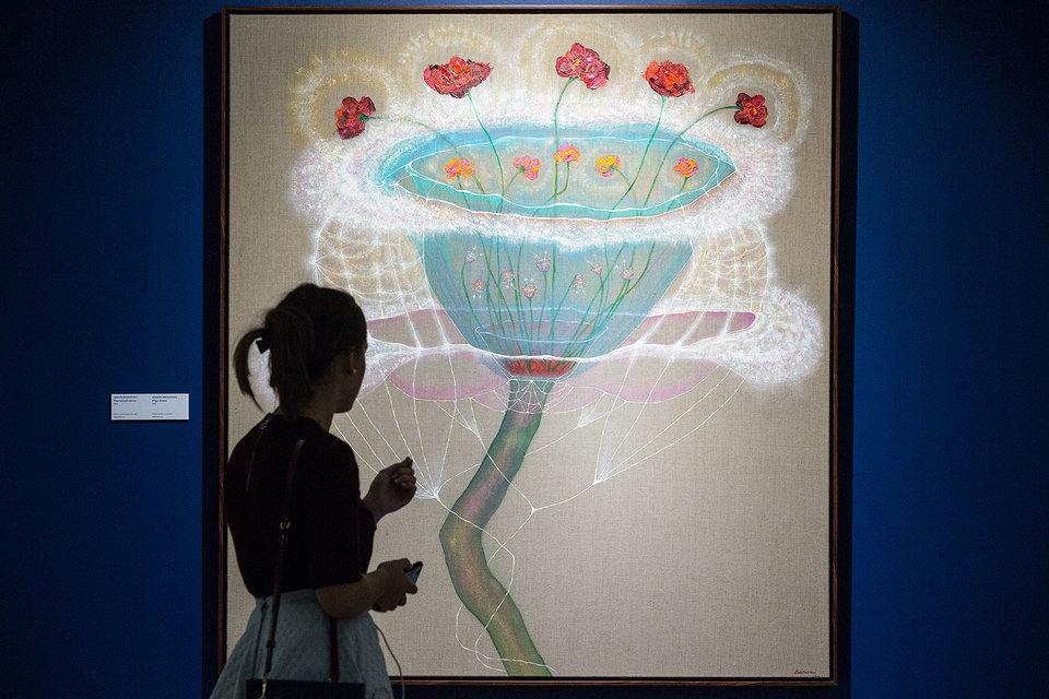 «Магический цветок» Эдварда Беккермана, одного из современных художников галереи