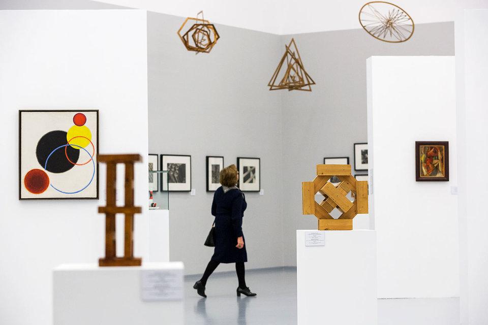 Выставке Родченко явно не хватило дизайнера, сумевшего четко организовать пространство