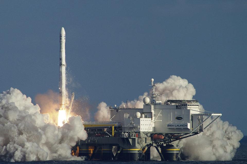 S7 покупает морской космодром «Морской старт»