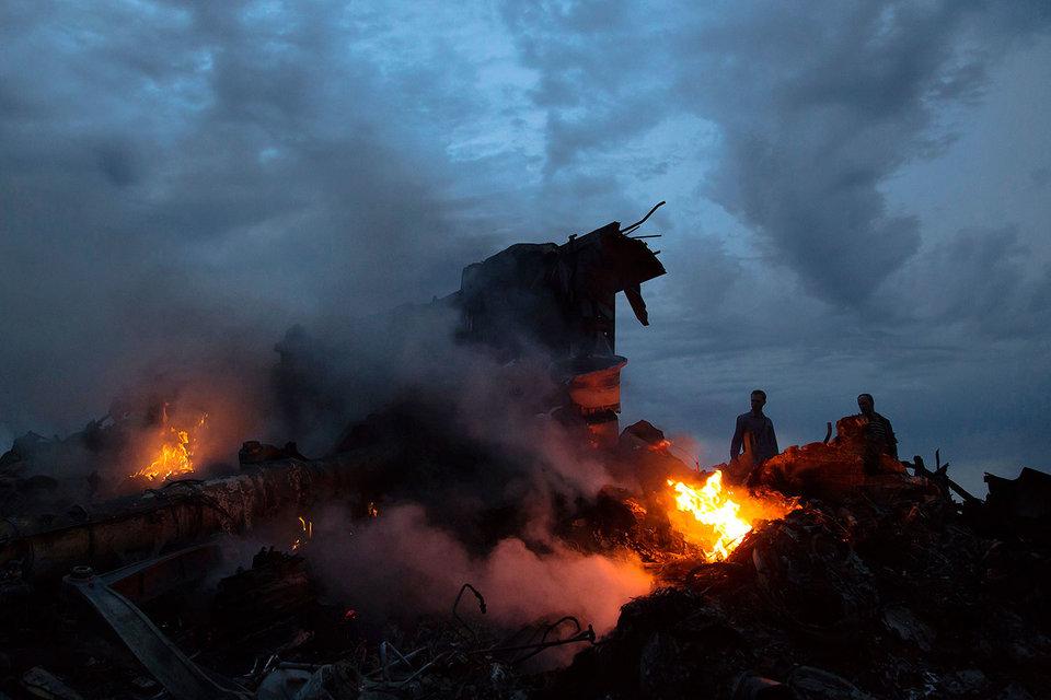 Самолет МН17 «Малазийских авиалиний» разбился 17 июля 2014 г. в Донецкой области Украины
