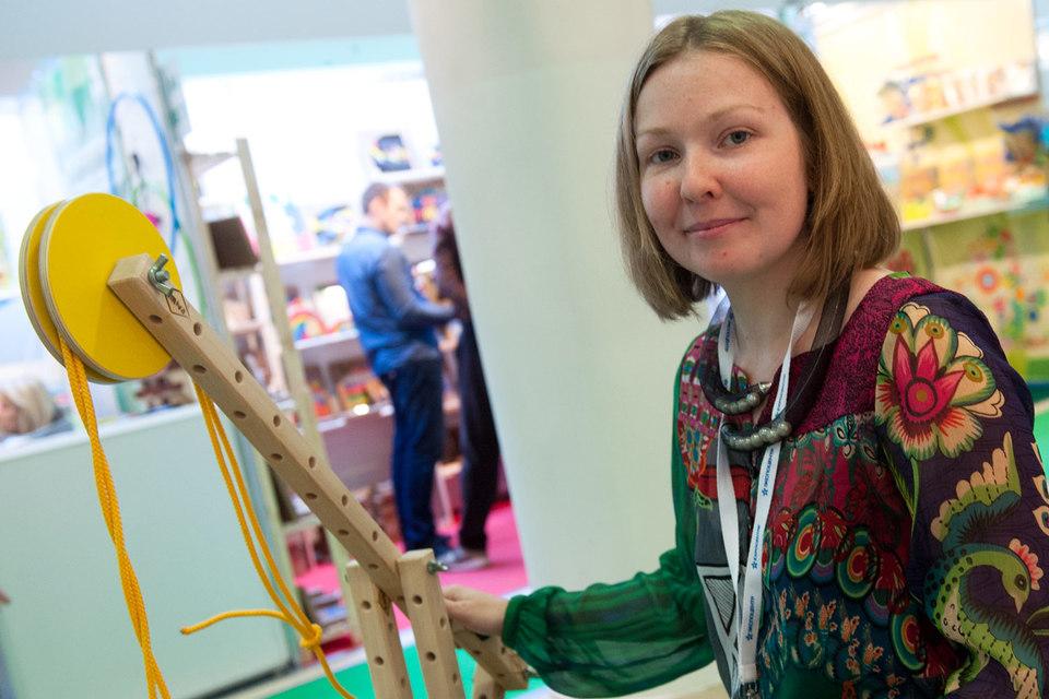 Елена Вакар впервые увидела большие конструкторы в детских музеях в Европе