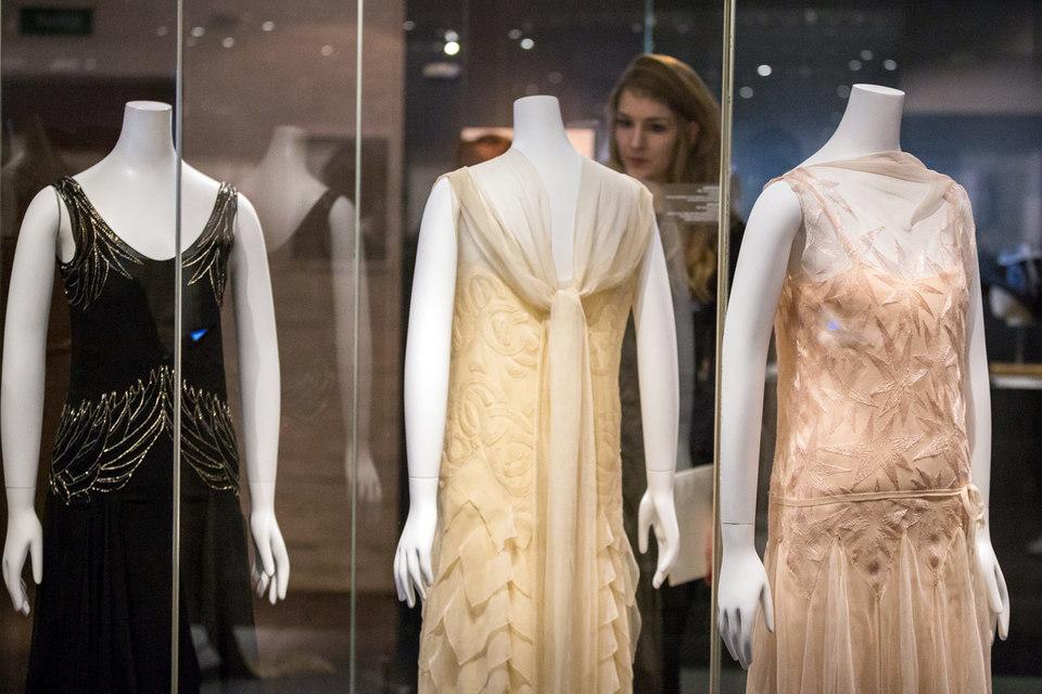 Вечерние платья от Мадлен Вионне типичны для ар деко