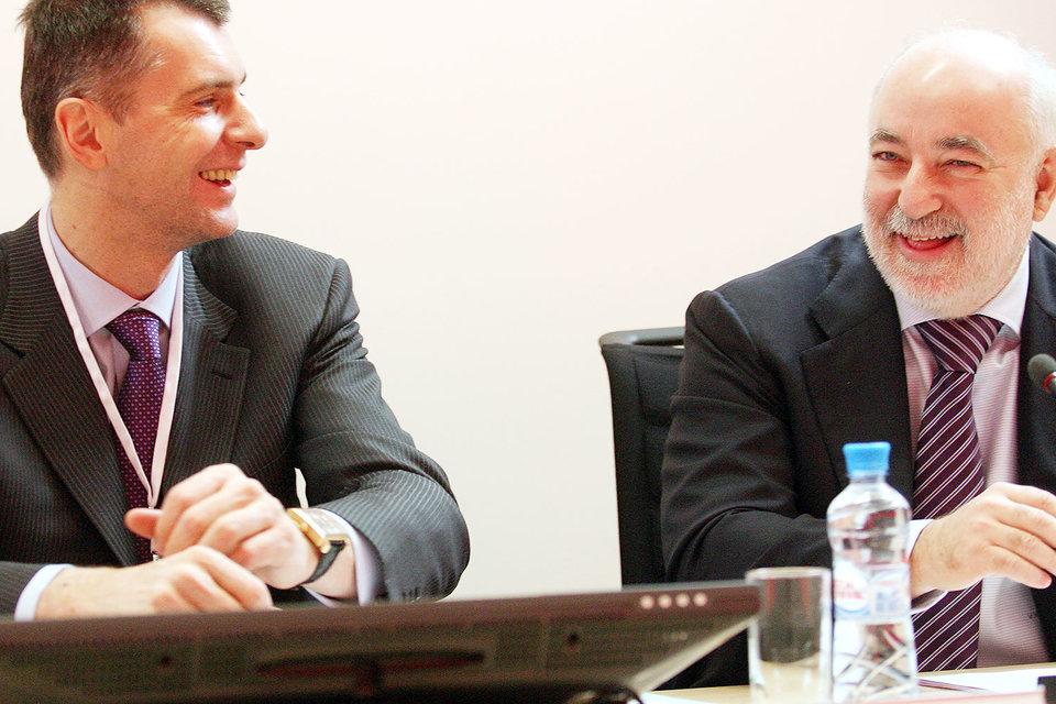 Михаил Прохоров и Виктор Вексельберг