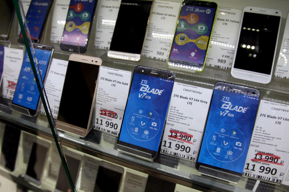 Cмартфоны ZTE относятся к низкой и средней ценовым категориям