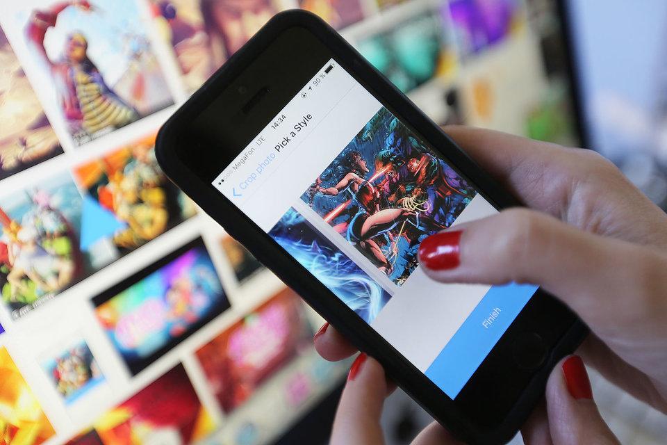Prisma была запущена 11 июня и быстро стала одним из самых скачиваемых приложений в App Store 10 стран