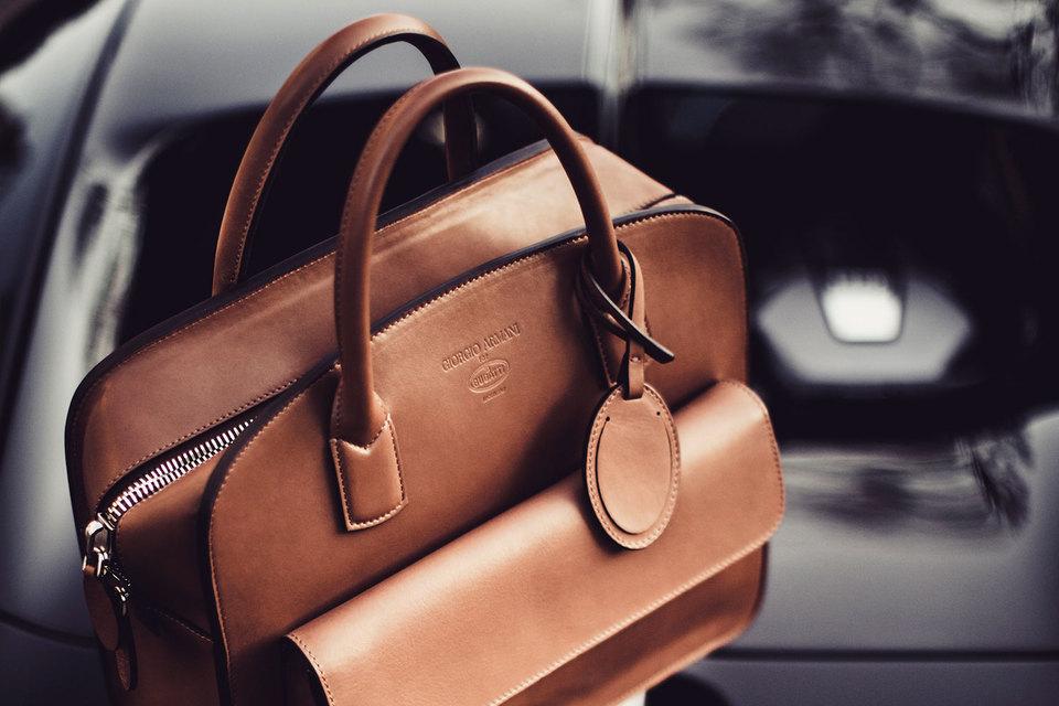 Коллекция Giorgio Armani for Bugatti - первый подобный опыт сотрудничества для брендов