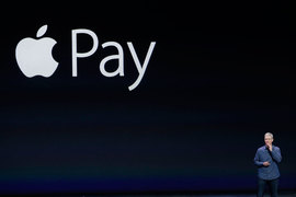 Тим Кук представлял Apple Pay еще в сентябре 2014 г.
