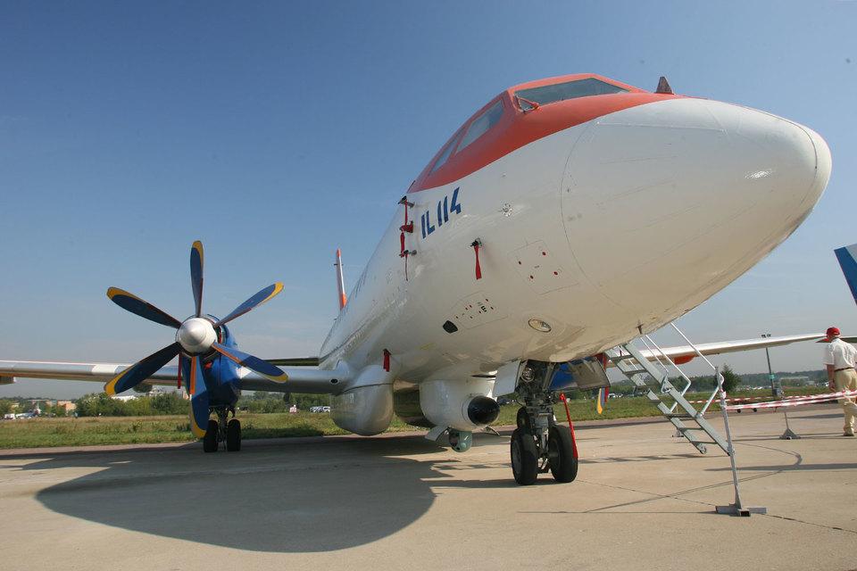 Денег на разработку самолетов Ил-114 (на фото), Ил-96 и двигателя ПД-35 в отраслевой госпрограмме нет