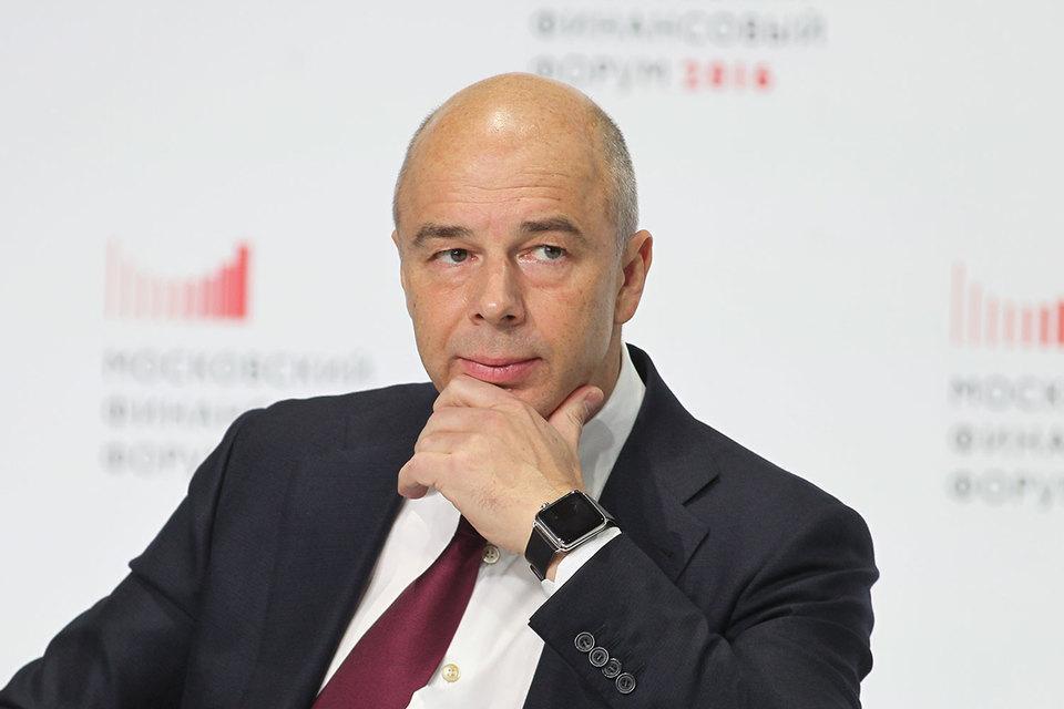 Министр финансов Антон Силуанов налоговых изменений уже не ждет