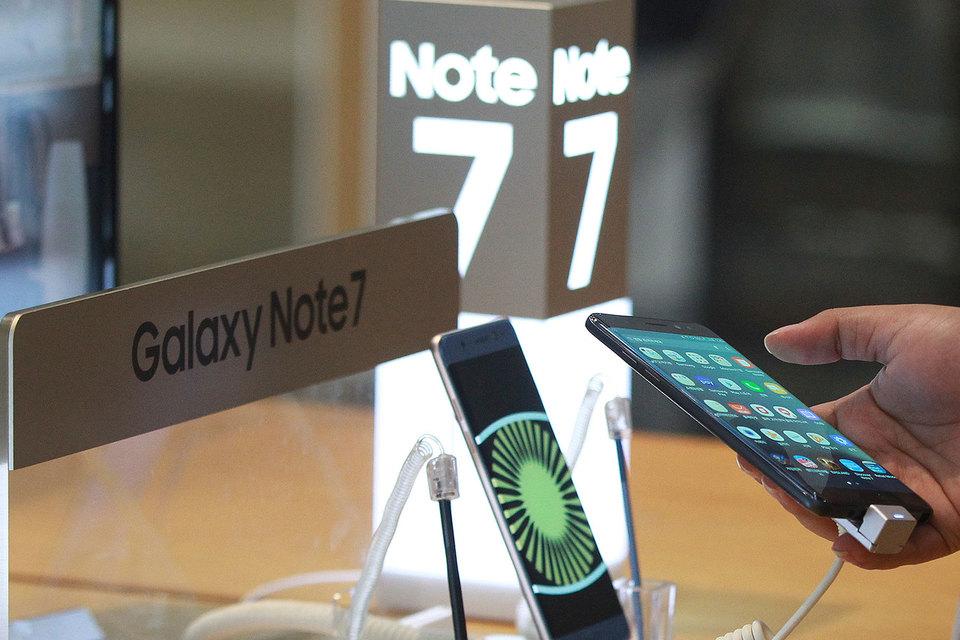 Samsung решил пока не выпускать Galaxy Note 7