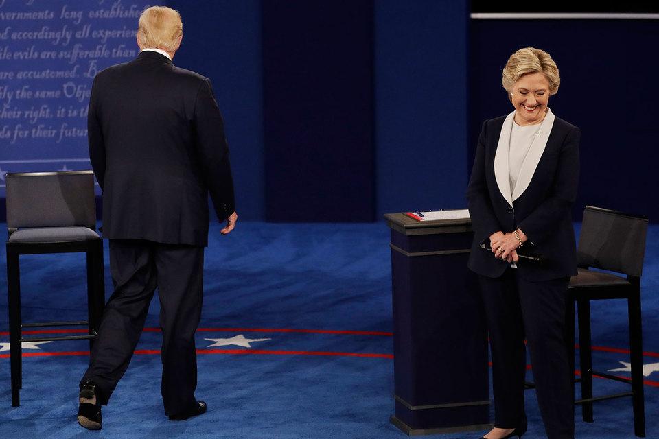 Трамп пообещал посадить Клинтон в тюрьму