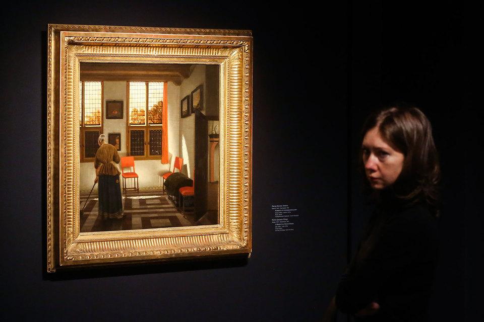 «Комната в голландском доме» Питера Янсенса Элинга