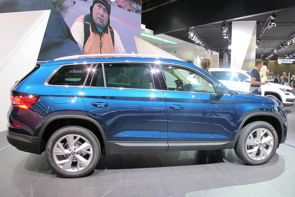 Новый серийный автомобиль Skoda Kodiaq