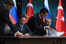Турция получит скидку на российский газ, ее предоставление будет связано с объемом поставок, сказал Миллер