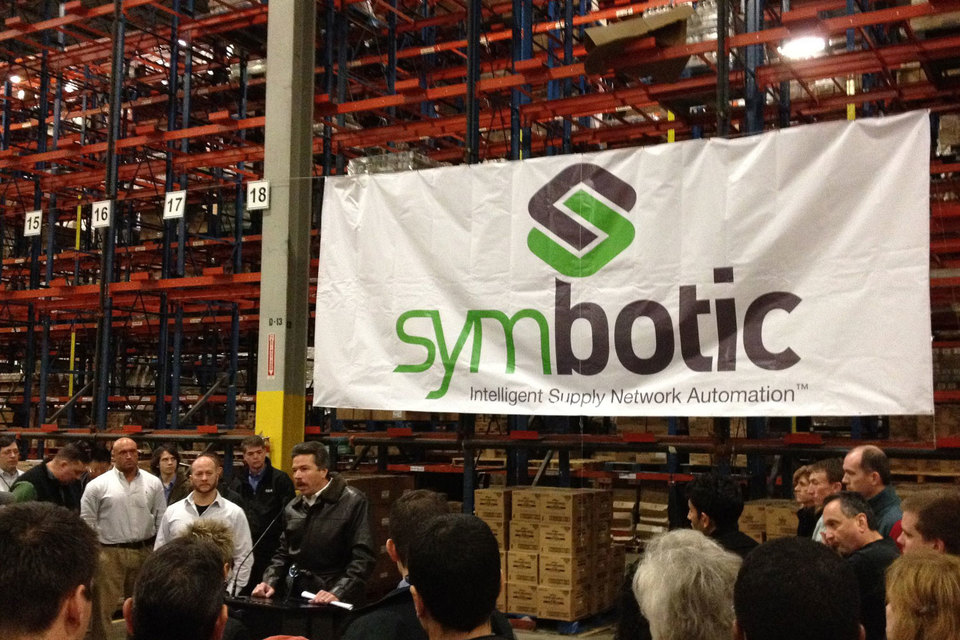 Новую технологию Symbotic внедряет на собственных складах C&S