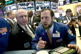 За четыре первых торговых дня S&P 500 упал на 4,9%