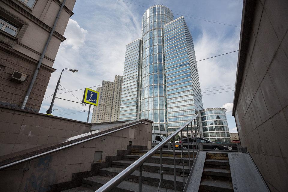 Nordstar Tower удачно расположен – в нескольких минутах ходьбы от метро «Беговая»