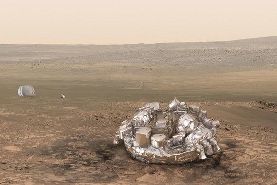 normal 1ik3 ESA получило сигнал с орбитального модуля ExoMars