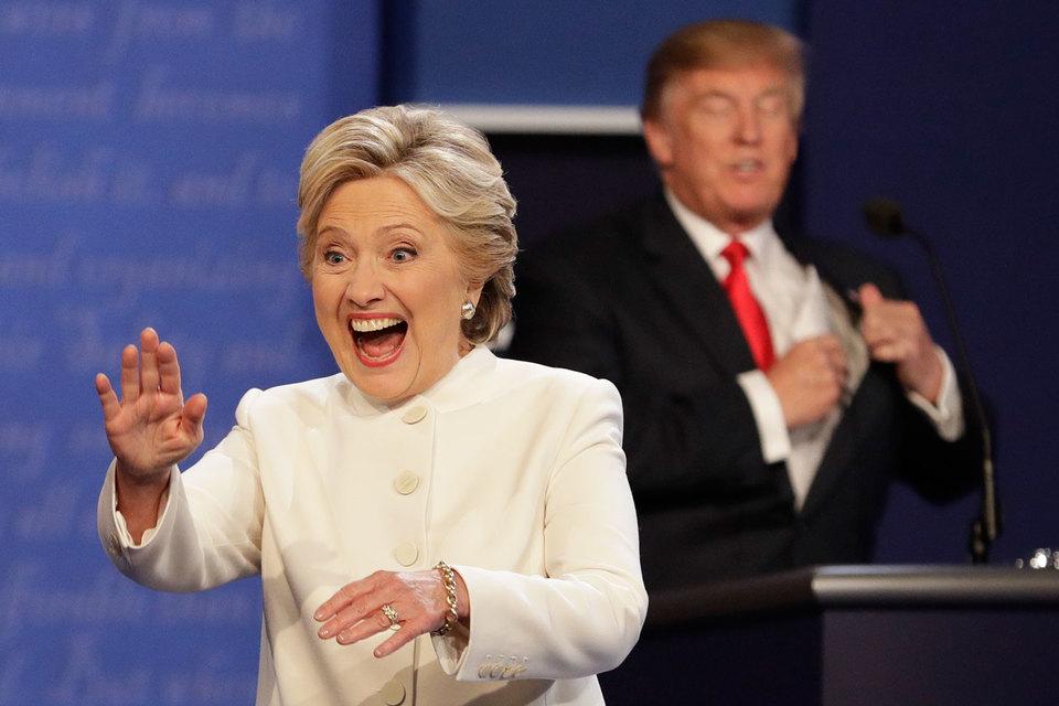 Трамп и Клинтон выясняли, кто из них марионетка Путина