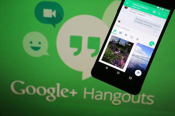 Еще один мессенджер от Google - Hangouts, позволяющий пользователю обмениваться sms и mms без end-to-end шифрования, также набрал 53 балла