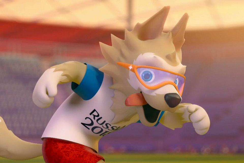 Талисманом чемпионата мира по футболу 2018 года будет волк