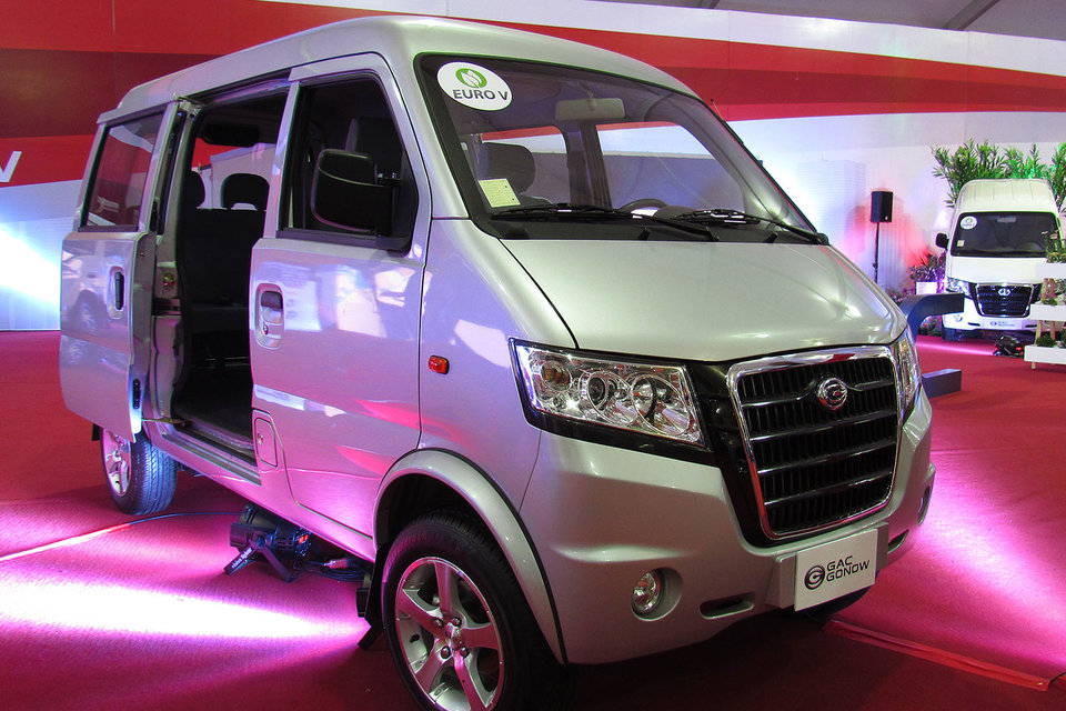 В начале 2016 г. GAC Motor начала продажи в России LCV Gonow Way в различных модификациях