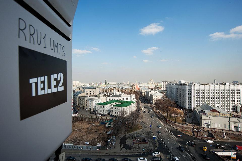 За два года Tele2 установила в Московском регионе 10 000 базовых станций