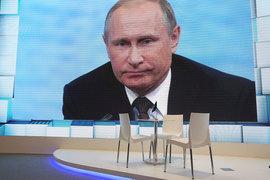 Путин назвал энергоблокаду Крыма «преступлением против человека»
