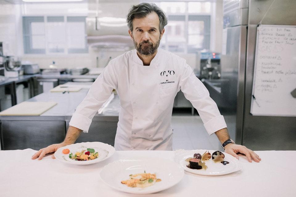 Шеф-повар Карло Кракко