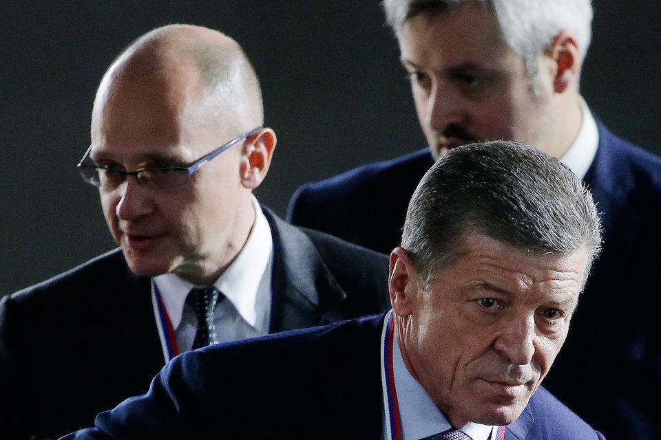 От Сергея Кириенко (слева) ждут нового подхода к ОНФ