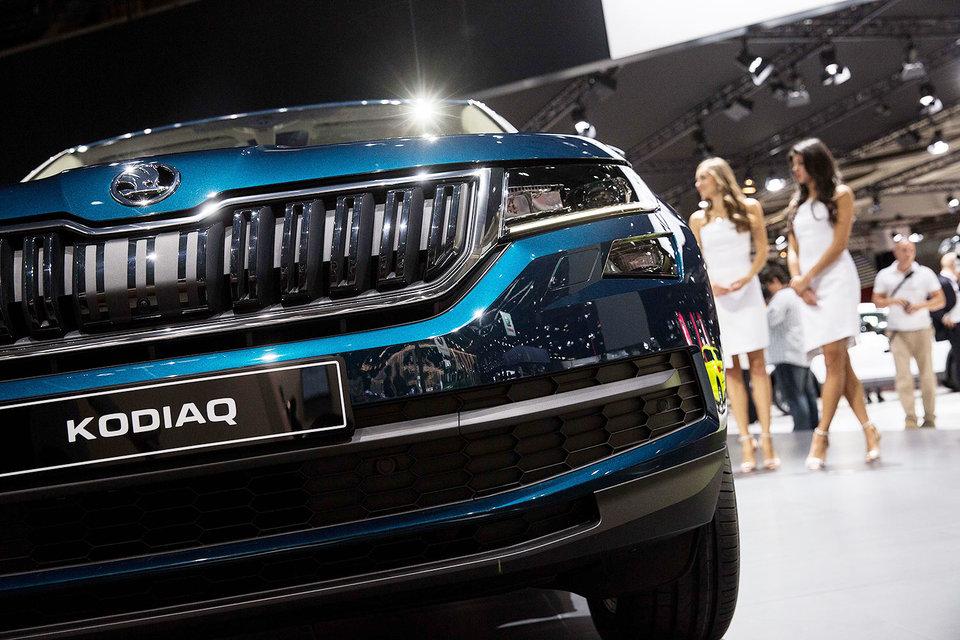 Новая модель концерна Volkswagen Skoda Kodiaq пропишется в Нижнем Новгороде