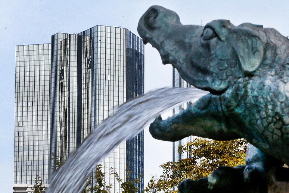 Deutsche Вank заработал в резерв