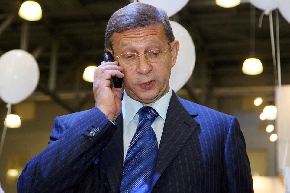 Владелец «Системы» и председатель ее совета директоров Владимир Евтушенков