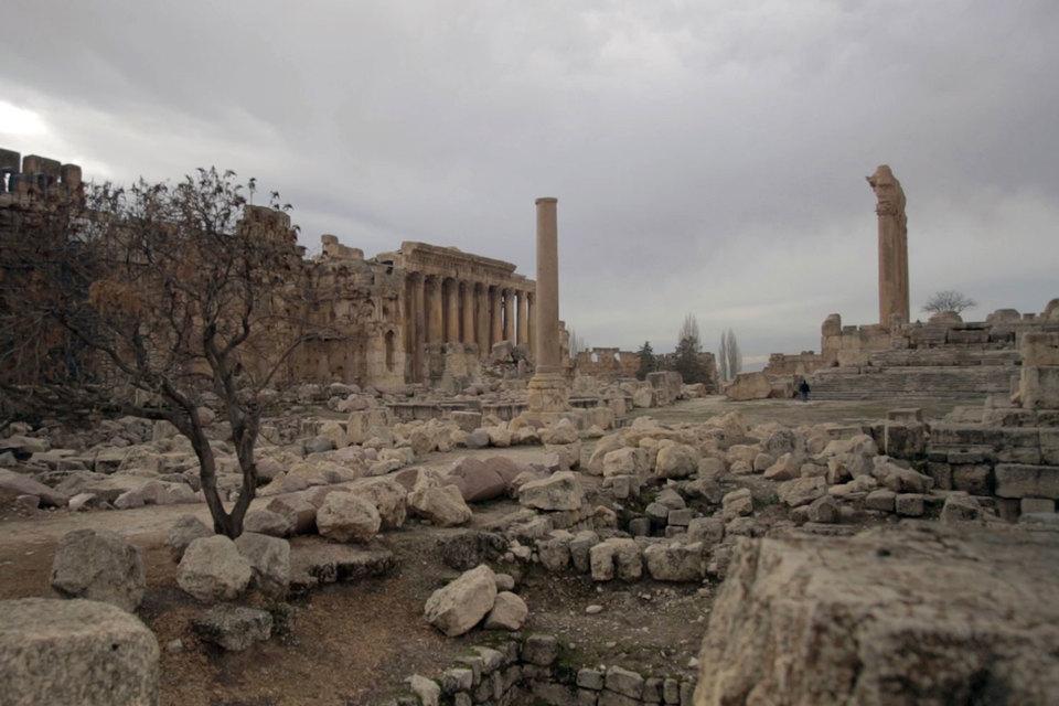 В фильм «Бежать от войны» попали не только сирийские беженцы, но и грандиозные античные руины в Баальбеке на севере Ливана