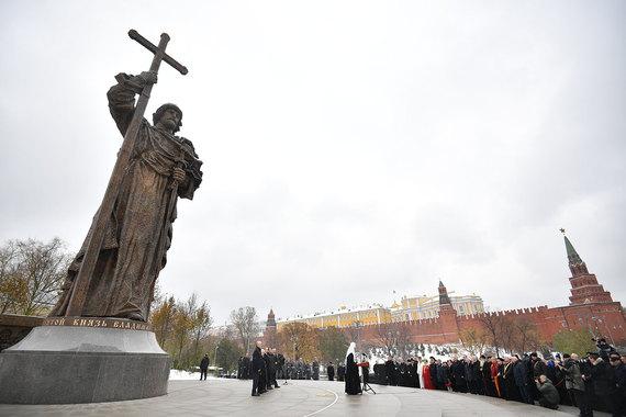 normal 15cd У Кремля торжественно открыли памятник князю Владимиру