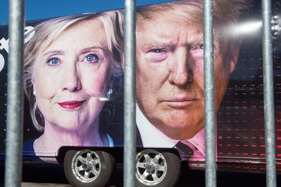Хиллари Клинтон и Дональд Трамп готовы на все ради внимания избирателей