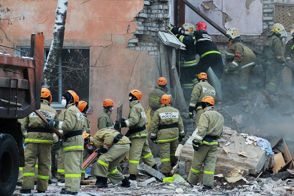 Жертвами взрыва газа в Иванове стали шесть человек