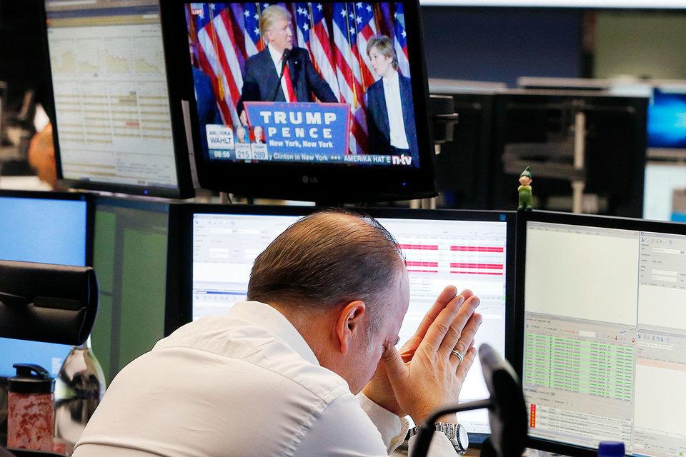 Настроения инвесторов, поначалу шокированных победой Трампа, улучшились