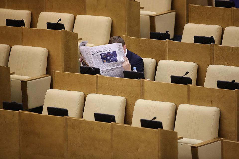 В Госдуме по-прежнему обсуждается идея обязать министров и их заместителей самостоятельно представлять свои законопроекты в комитетах, а в случае неявки снимать законопроекты с повестки пленарных заседаний